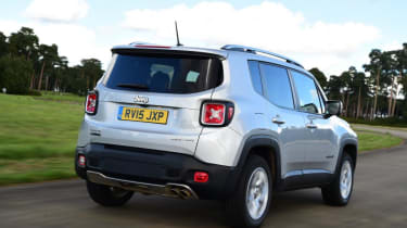 Used Jeep Renegade - rear action
