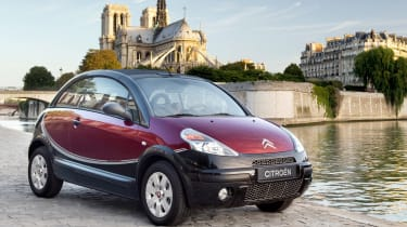 Weird car special editions - Citroen C3 Pluriel Charleston