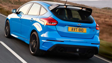 Ford Focus RS - road rear