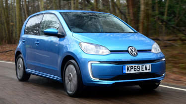 Volkswagen e-up! - front driving