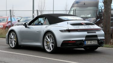 New Porsche 911 Cabriolet - spyshot 7