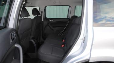 Skoda Yeti 2014 rear seats