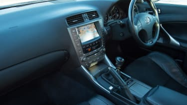 Used Lexus IS - cabin