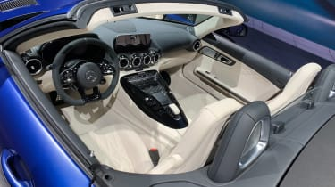 Mercedes-AMG GT R Roadster - Geneva dash