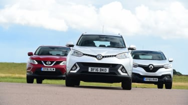 MG GS vs rivals - header