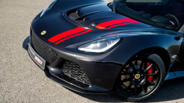 Lotus Exige 350 Special Edition - front detail