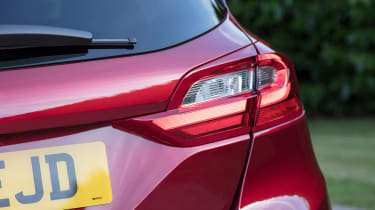 Ford Fiesta diesel review - taillight