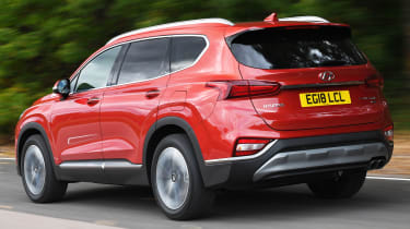 hyundai santa fe tracking rear