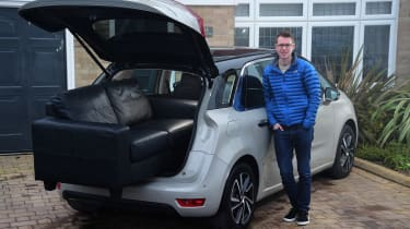 Citroen C4 Picasso long-termer - first report header
