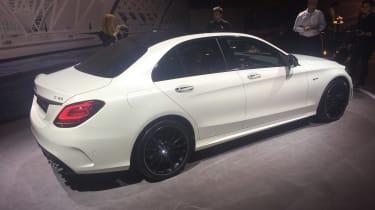 Mercedes-AMG C 43 - Geneva side