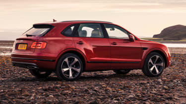 Bentley Bentayga V8 petrol announced - rear quarter