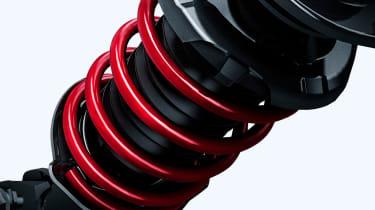 Daihatsu Copen GR Sport - suspension