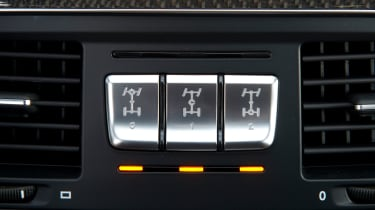 Mercedes-AMG G63 Edition 463 - differential switches
