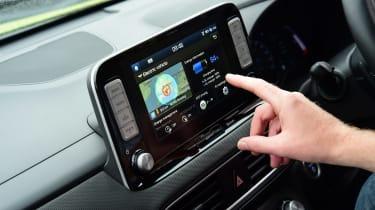 Hyundai Kona Electric Premium SE - long term first report infotainment