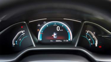 Honda Civic Saloon - dials