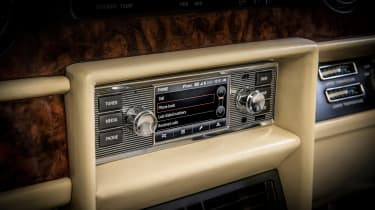 Jaguar Land Rover classic infotainment system