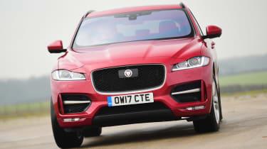 Jaguar F-Pace - front action