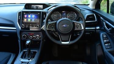 Subaru Impreza - interior