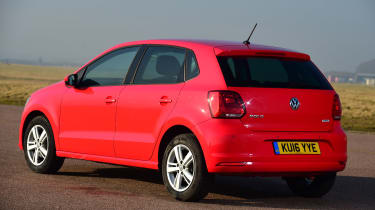 Volkswagen Polo - rear static