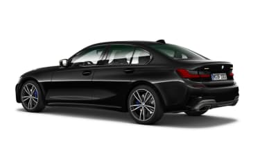 Leaked BMW 3 Series - rear black