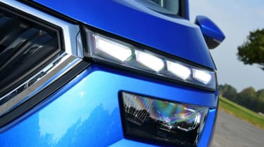 Skoda Kamiq headlight