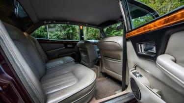 Jaguar XJ40 XJ6 Sovereign rear seats