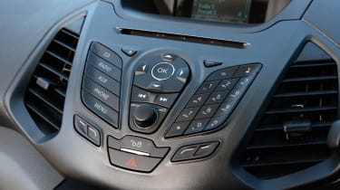 Ford EcoSport buttons