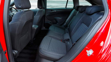 New Vauxhall Astra Sports Tourer - rear seats