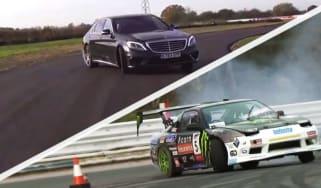 Nissan 200 SX vs Mercedes S63 AMG