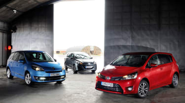Toyota Verso vs rivals