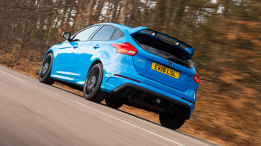 Ford Focus RS Mountune - rear action