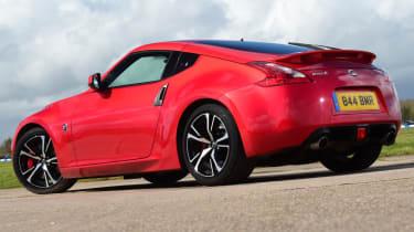 Nissan 370Z GT –rear quarter