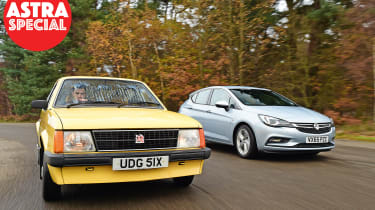 Vauxhall Astra - old vs new