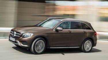 Mercedes GLC - action
