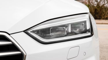 Audi A5 Cabriolet - front light detail