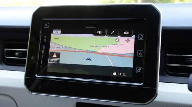Suzuki Ignis - infotainment screen