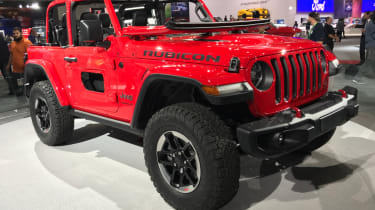 2018 Jeep Wrangler new - front quarter