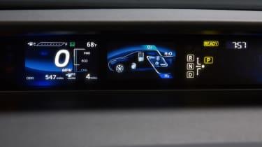 Toyota Mirai - screen