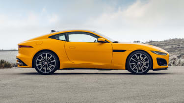 2020 Jaguar F-Type - side static