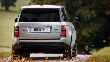 Range Rover review - rear