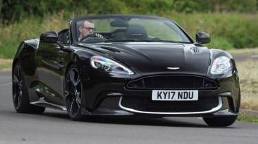 Aston Martin Vanquish S Volante - front corner
