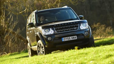 Land Rover Discovery Mk4 - front