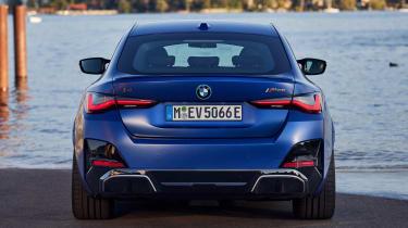 BMW i4 - full rear