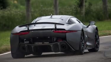 Jaguar C-X75 rear cornering