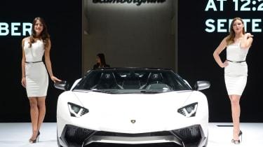 Lamborghini Huracan Spider at Frankfurt 2015