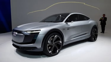 Audi Elaine concept - front