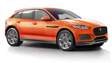 Baby Jaguar F-Pace front