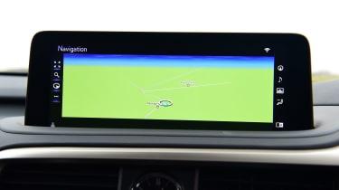 Lexus RX - sat-nav
