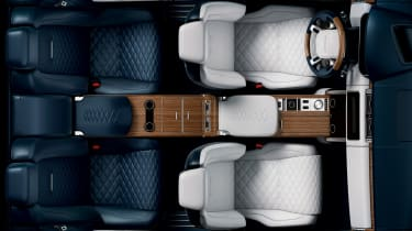 Range Rover SV Coupe - interior