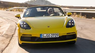 Porsche 718 Boxster GTS - front